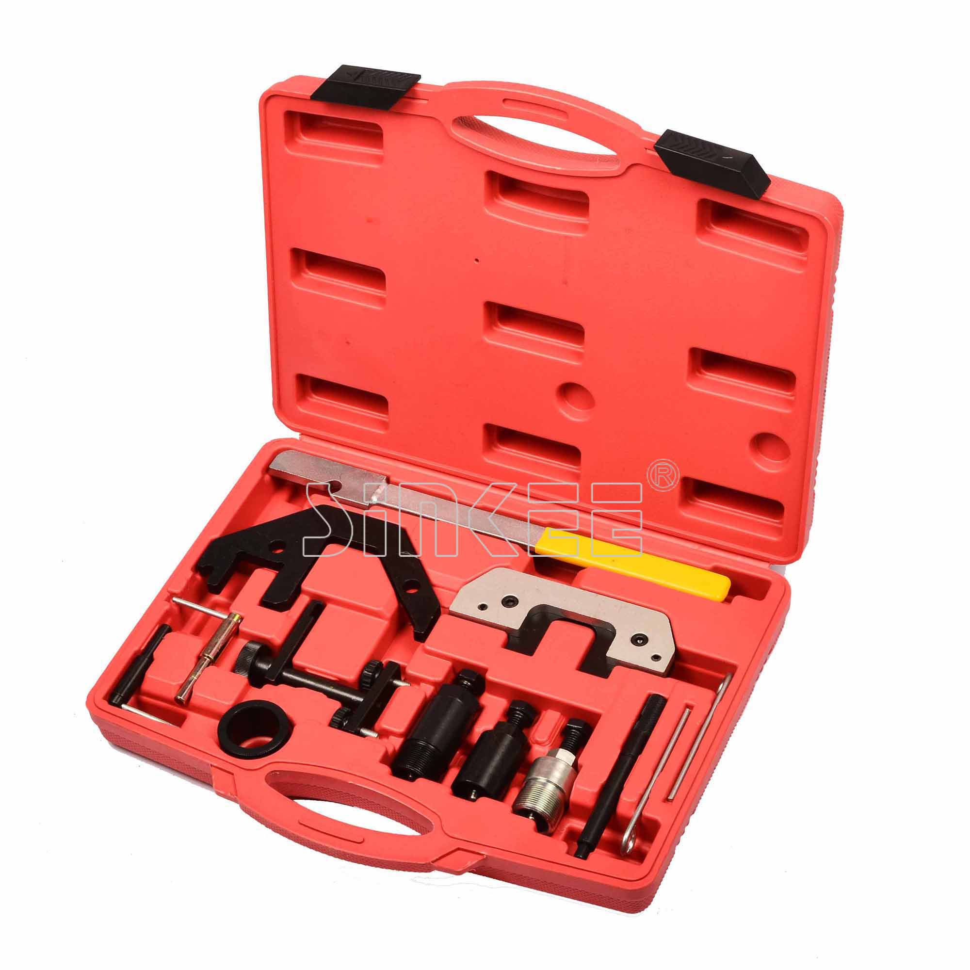 13 Pc Engine Timing Tool Kit For Bmw / land Rover Diesel Engines Professinal Master Kit petrol engine timing tool kit for land rover freelander rover mgzt v6