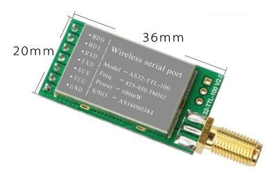 2pcs 433MHZ wireless serial SX1278/SX1276 wireless module LORA spread UART interface wireless adaptor 3000m E32-TTL-100 nrf24le1 wireless data transmission modules with wireless serial interface module dedicated test plate