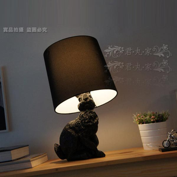 Front design fashion vintage child cartoon rabbit table lamp in led front design fashion vintage child cartoon rabbit table lamp aloadofball Image collections