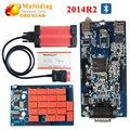 2014R2 Multidiag multidiag pro com Bluetooth tcs cdp Pro + auto multi-diagnóstico do scanner pro plus para Carros/Caminhões OBD2 como MVD tcs cdp