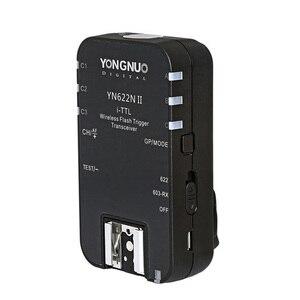Image 2 - Беспроводной триггер для вспышки YONGNUO TTL i TTL 2,4G YN622N II HSS 1/8000 для Nikon DSLR Camera Speedlite SB910 SB900, 1 шт.