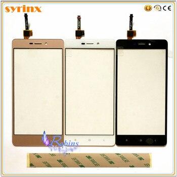 SYRINX 5.0 inch Touch Screen Digitizer Front Glass Touchscreen Sensor Touch Panel For Xiaomi Hongmi 3 Redmi 3 3s Redmi3 3M Tape
