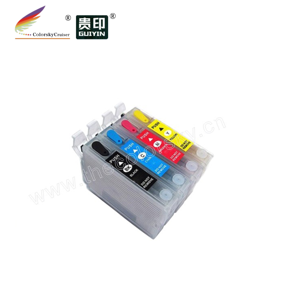 (RCE2521) riutilizzabile cartuccia di inchiostro a getto d'inchiostro per Epson WF3620 WF3640 WF7110 WF7610 WF7620 WF 3620 3640 7110 7610 7620 T 2521 2522