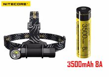 2017 new Nitecore HC33 CREE XHP35 LED 1800 lumens High Performance Headlamp with 18650 battery(China)