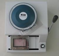 protable PVC card printer for sale pvc card embossed machine