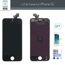 100 No Dead Pixel Lcd Replacement For iphone 5 lcd Screen Touch Screen Digitizer Glass In