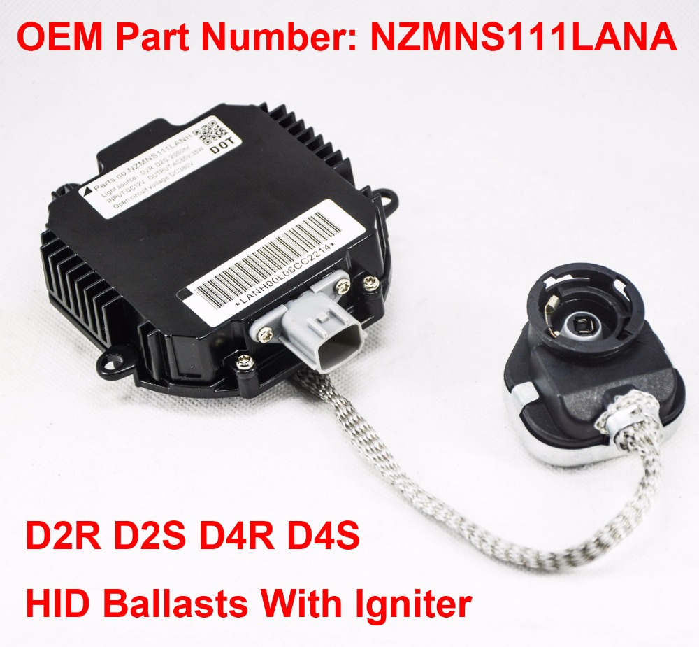 2x 12V 35W D2R D2S OEM HID Xenon Headlight Ballast With Igniter Control Unit OEM Part Number NZMNS111LANA For Nissan Infiniti источник света для авто oem 1 35w 6000k dc 12v