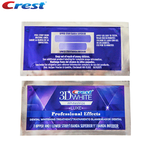 Image 4 - 5 Pouch/10 Strips Crest 3D White Whitestrips LUXE Original Professional Effects Teeth Whitening Strips Tooth Bleaching Gel