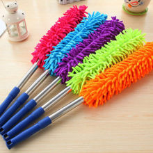 Adjustable Fiber Chenille Telescopic Duster Convenient Soft Microfiber Household Cleaning Dusters Creative Colorful Clean Tools refill dusters cloth white