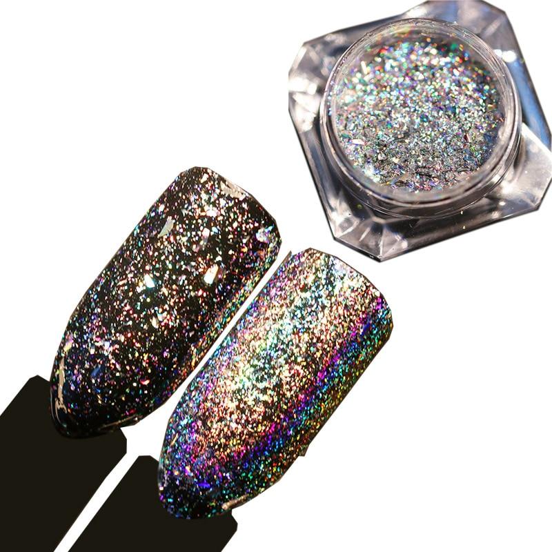 Galaxy Nail Products: Aliexpress.com : Buy 0.2g Galaxy Holographic Nail Flakes