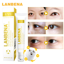 лучшая цена LANBENA Peptide Anti-wrinkle Eye Cream  Anti-Puffiness Serum Remove Dark Circles Skin Care Hyaluronic Acid Lift Firming Essence