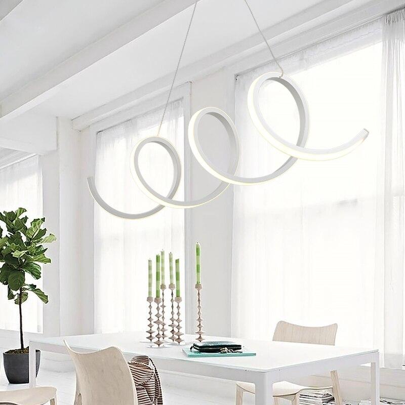 Moderne FÜhrte Hängende Lampen Esszimmer Wohnzimmer Pendelleuchten Lampe Lamparas Moderne Pendelleuchte Für Küche Suspension Leuchte