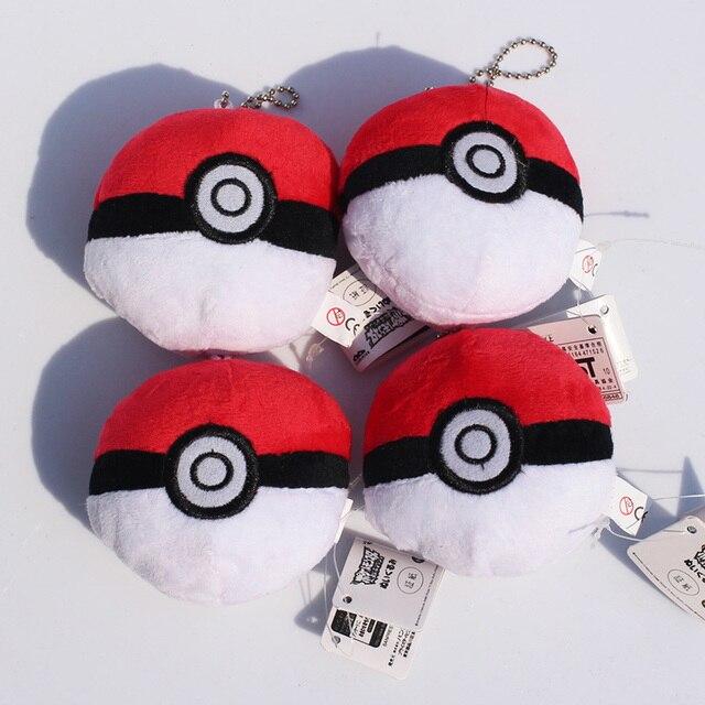Anime Pocket Monster Pokemongo Ball Plush Toy Soft Stuffed Doll