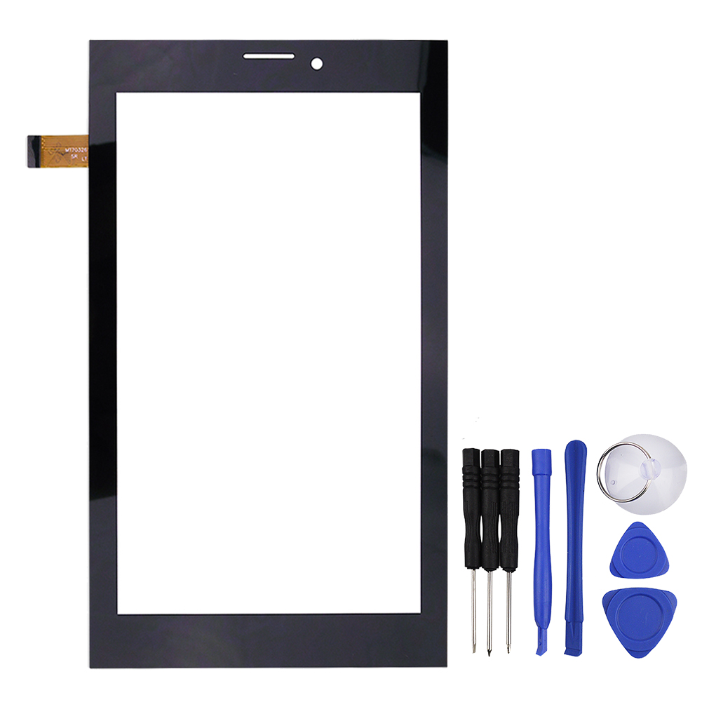 New 7 inch Black Touch Screen Sensor for MT70326 V1 Tablet Glass Digitizer Replacement Free Shipping