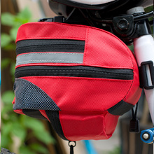 ROBESBON Outdoor MTB Bike Cycling Bicycle Accessories Saddle Bag Back Seat Tail Pouch Package Rear Bags