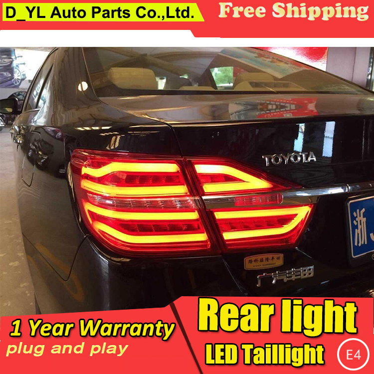 Car Styling Tail light Accessories for Toyota Camry LED Taillights 2015 Camry Tail Lamp Rear Lamp