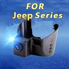 Car Wifi DVR Registrator for Jeep Grand Cherokee Hidden Installation Dashcam G-sensor Support AV Out to Monitor