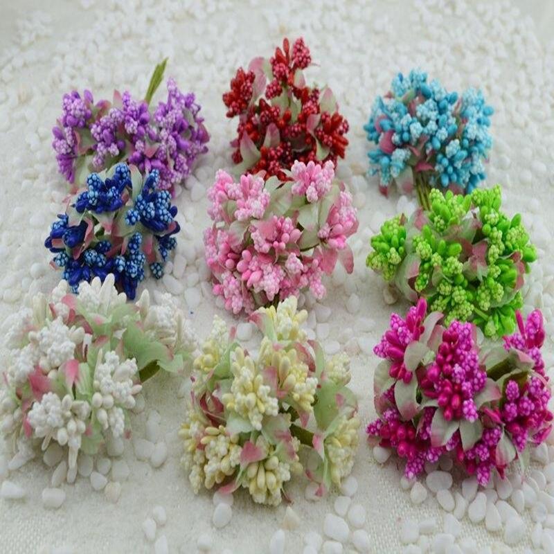 Whole 6 817cm Tiffany Blue Wedding Decoration Centerpieces Artificial Silk Flower