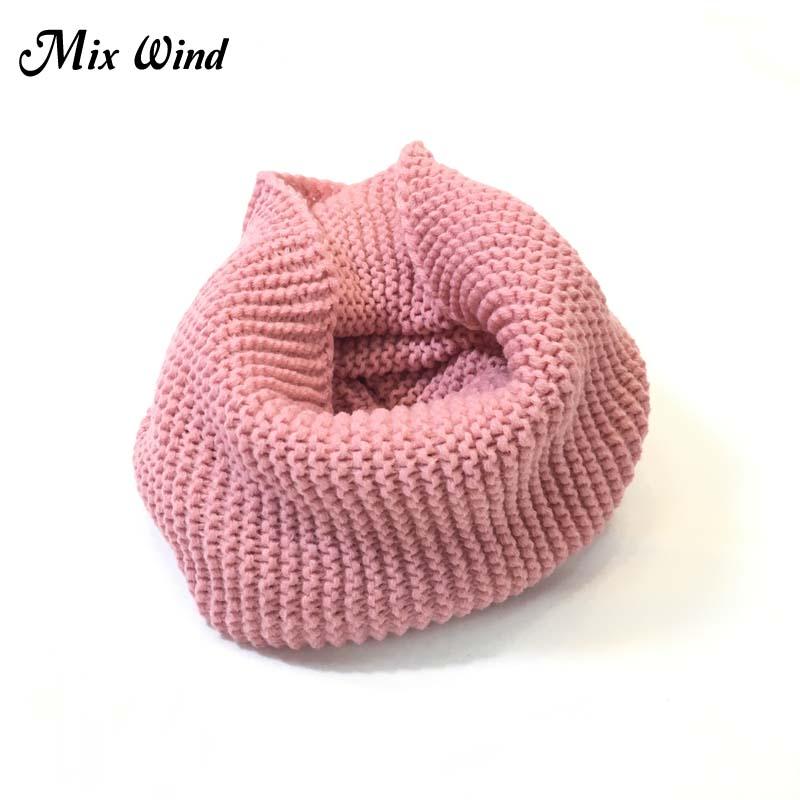 7c706a92236 Mix Wind Ladies Girls All-Match Winter Warm Knitting Wool Collar Neck  Warmer Scarf Shawl Wraps Collar Women And Men Scarves