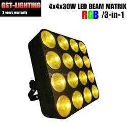 DMX 16x30w RGB/CW/WW COB matryca led blinder etap światła dj-skie led światło matrix