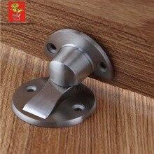 Wholesale 10peices modern Stainless Steel 304 Magnetic Door Stopper conceal magnetic door Stop Floor Magnetic Catch