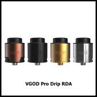 מקורי VGOD פרו RDA 2 מאדה טפטוף טפטוף Rebuildable מרסס אדים עצום עבור Vapers באיכות גבוהה פרו RDA סיגריה אלקטרונית