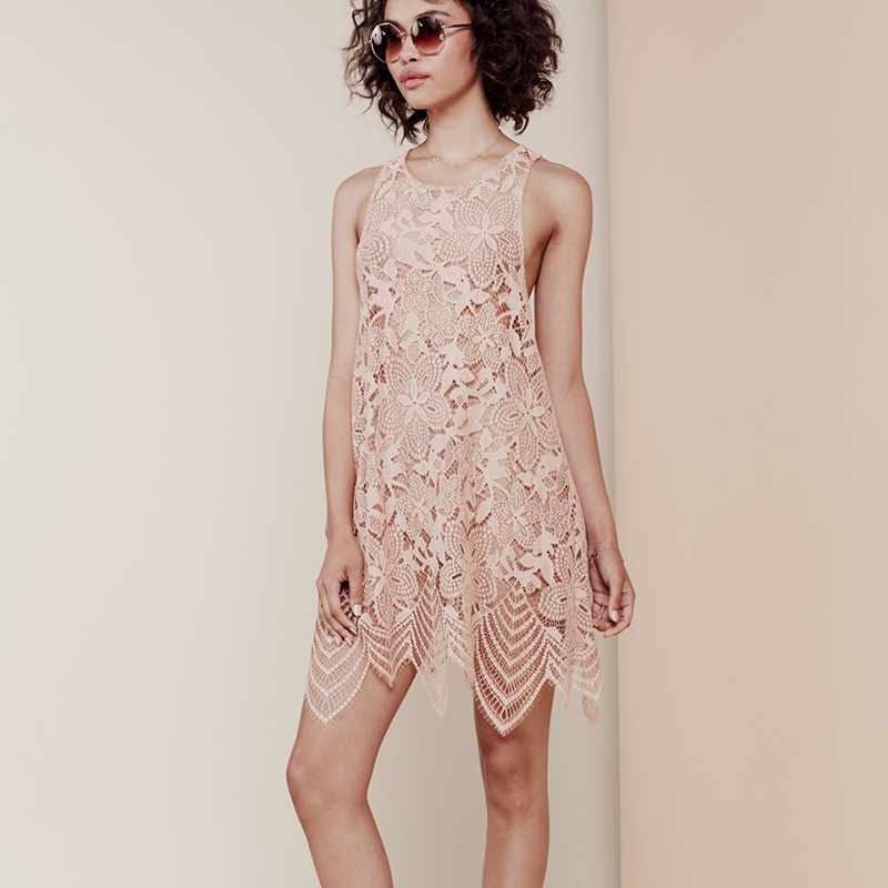 Tank lace dress