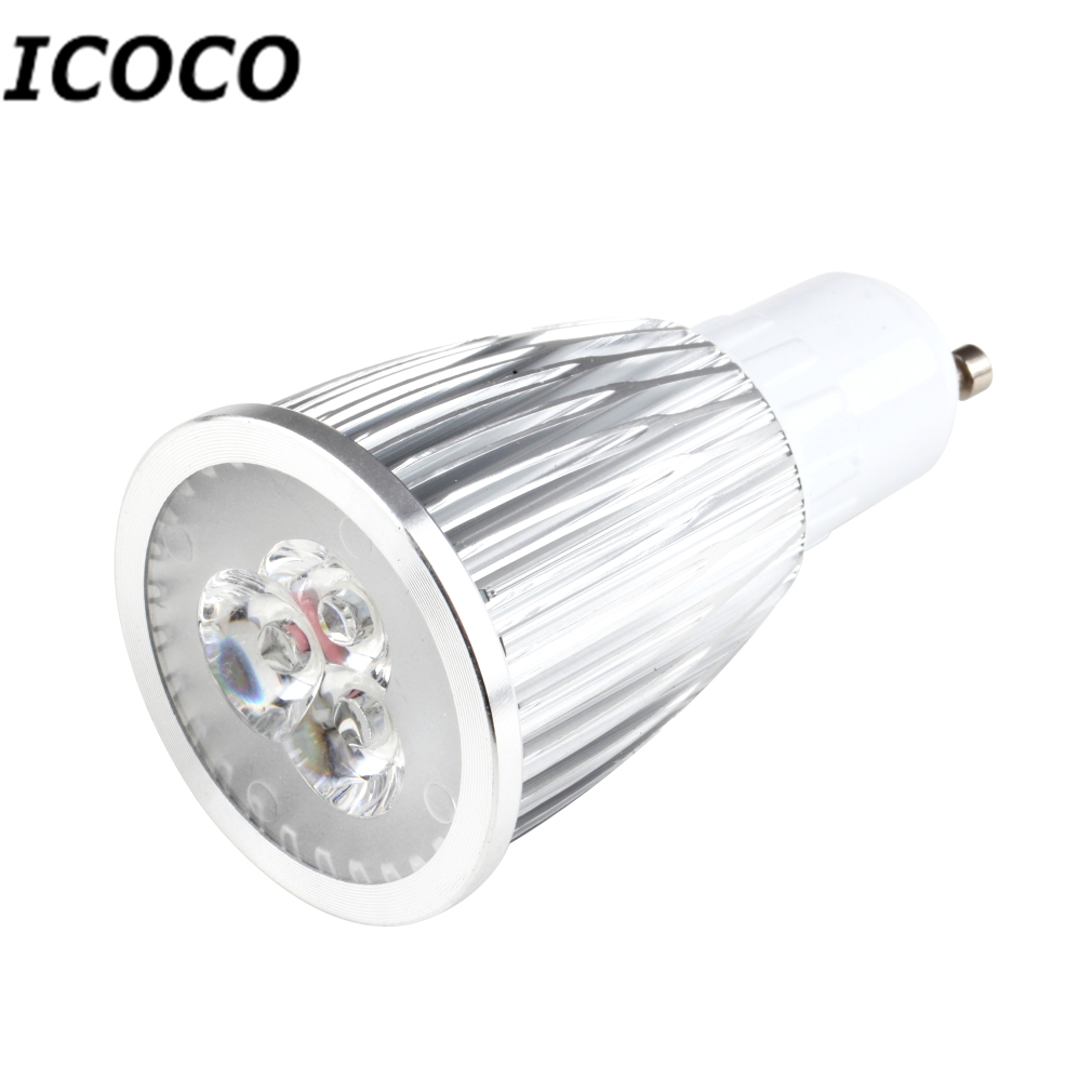 ICOCO High Quality 9W GU10 Spotlight LED Downlight Lamp Bulb 85-265V Spot Light Pure White for Office/Store/Indoor Wholesale