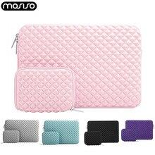 Mosiso Diamant Waterafstotend Lycra Laptop Tas Cover Voor Macbook Nieuwste Pro 13 Inch Air 11 12 13 15 Mouw microsoft Oppervlak