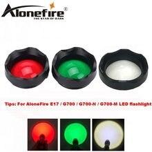 AloneFire E17 schalter zubehör G700 led taschenlampe schalter/rot grün objektiv/ferndruckschalter/remote druck pad schalter
