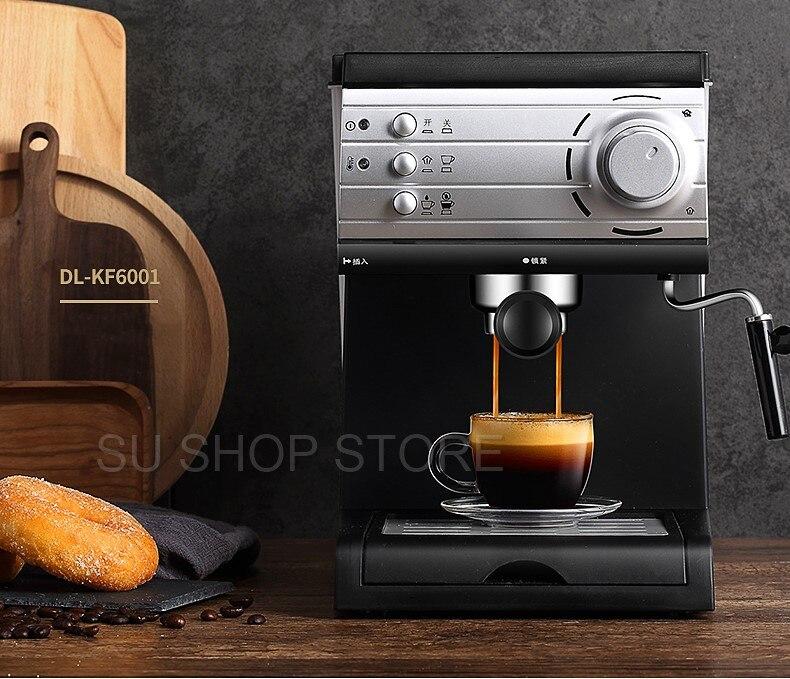 20 Bars Espresso Pump 1 5Liter Water Tank Coffee Machine Home Office Coffee Machine Espresso Semi