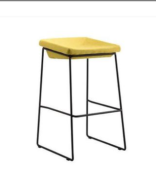 Nordic bar stool modern minimalist home wrought iron industrial wind coffee restaurant mobile phone shop high stool bar stool 3pcs lot nordic iron high stool bar stools modern minimalist home backrest dining chair cafe bar stool bar stool