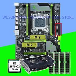Kupić zniżki mobo HUANANZHI X79 Pro płyta główna z podwójnym M.2 slot CPU Xeon E5 2670 2.6 GHz RAM 32G (4*8G) karta graficzna GTX750Ti 2G|Płyty główne|Komputer i biuro -