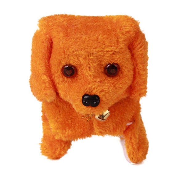 New-Electronic-Dog-Toy-Battery-Powered-Steel-Blue-Plush-Walking-Barking-Electronic-Pets-Dog-Toys-Brown-Yellow-Pink-5