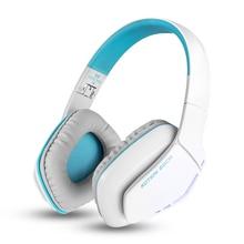 CADA B3506 Bluetooth 4.1 Over-ear Plegable Gaming Headset Auriculares Inalámbricos Bluetooth con Micrófono 3.5mm Cable para PS4 PC (blanco)
