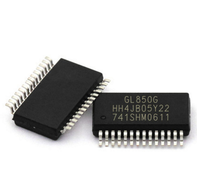 5pcs/lot GL850G GL850 SSOP-28 USB 2.0 hub controller chip new original In Stock