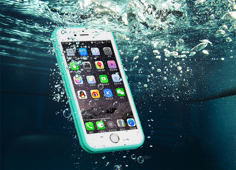 Waterproof Phone Case for iPhone 6 6s 7 8 Plus SE 5S Case Swimming Diving Waterproof TPU Cover for iPhone X XS XR XS Max Coque