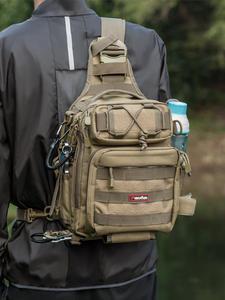 Piscifun Fishing-Tackle-Bag Single-Shoulder-Backpack Hiking Nylon Huntting Outdoor Waterproof