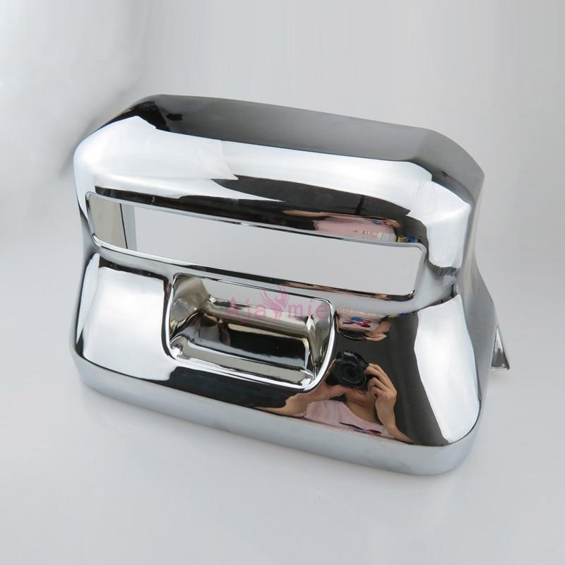 Accessories For Toyota Land Cruiser 150 Prado LC150 FJ150 2018 License Plate Frame Cover Chrome Car-Styling Accessories For Toyota Land Cruiser 150 Prado LC150 FJ150 2018 License Plate Frame Cover Chrome Car-Styling