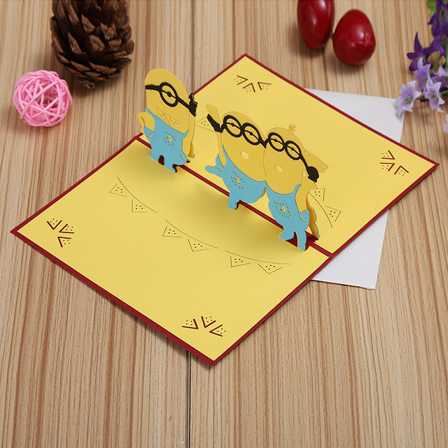 Online shop manufacturers selling small yellow mini stereo diy manufacturers selling small yellow mini stereo diy handmade greeting cards and creative children can be customized m4hsunfo
