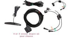 4 เซ็นเซอร์ที่จอดรถด้านหน้า SENSOR จอแสดงผล LED OBD2 การเชื่อมต่อ LED CANbus ด้านหน้า Triggered โดยอัตโนมัติต่ำกว่า 20 กม./ชม.