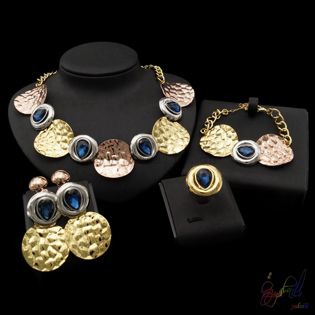 Yulaili Free Shipping 2017 New Arrival High End Pure Gold Color Ladies Dubai Gold Jewelry Set босоножки dali босоножки