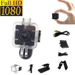 SQ12 HD 1080 P Mini Kamera Night Vision Mini Kamera Sport Odkryty Action Wodoodporna Kamera DV Voice Nagrywarki