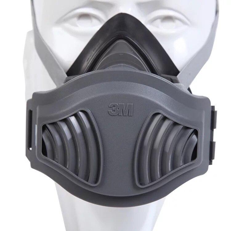 WAB1-3M 350D filtro autocebante anti-partículas respirador industrial máscara antipolvo antivirus conjunto de combinación