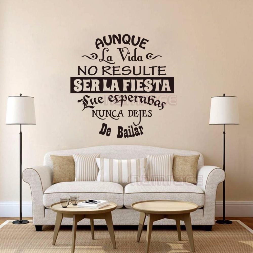 Medium Of Wall In Spanish