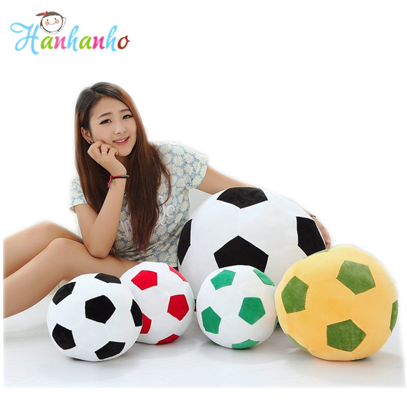 Soft Soccer Ball Plush Pillow Toys World Cup Football Sport Fan Home Decoration Gift For Children