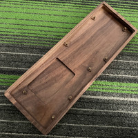 GK61 GK64Special Wooden Shell Pear Wood Shell mechanical keyboard DIY Wooden shell wood keyboard