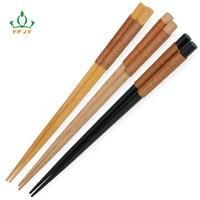 Wood Chopsticks Gift Handmad Thread Head Dinner Food Chopsticks Tableware 22 5 Cm Korea Japanese Chopstick