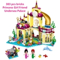 BELA 10436 Princess Mermaid Undersea Palace Girl Friends Lepin Building Bricks Compatible Toys For Children Birthday Gift