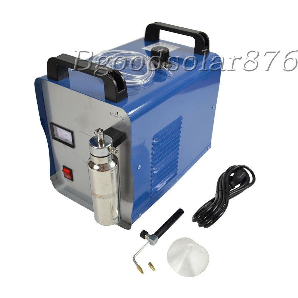Nouveau 220 V Oxygène Hydrogène de L'eau de Flamme Bijoux Polisseuse Acrylique Flamme Soudeur 75L